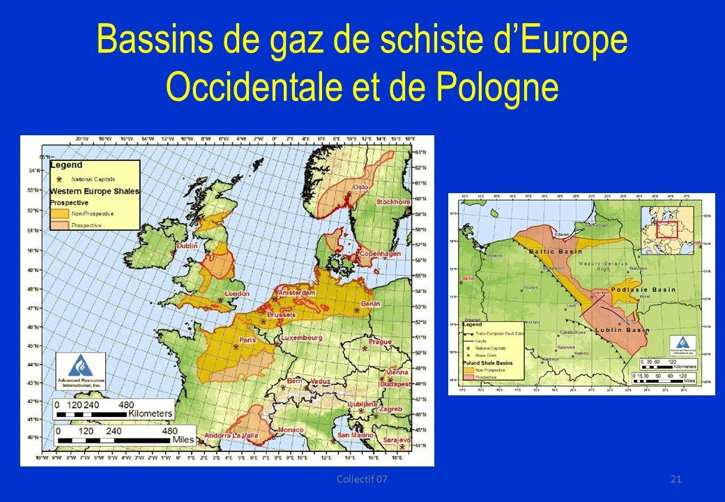 Bassins de gaz de schiste dEurope Occidentale et de Pologne 21Collectif 07
