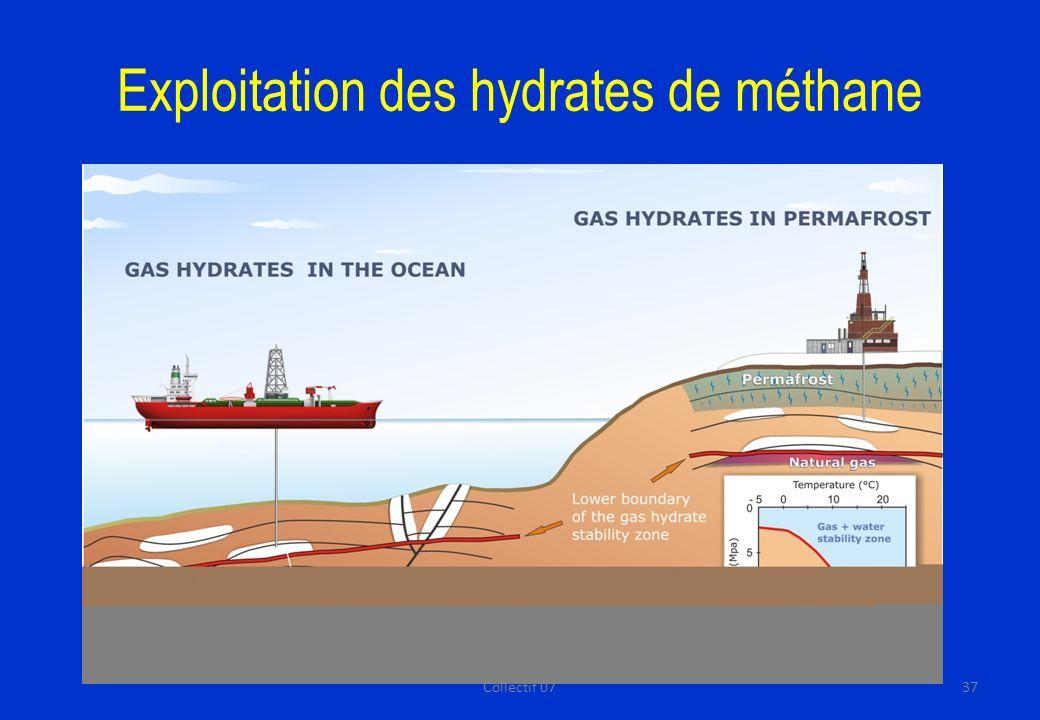 Exploitation des hydrates de méthane 37Collectif 07