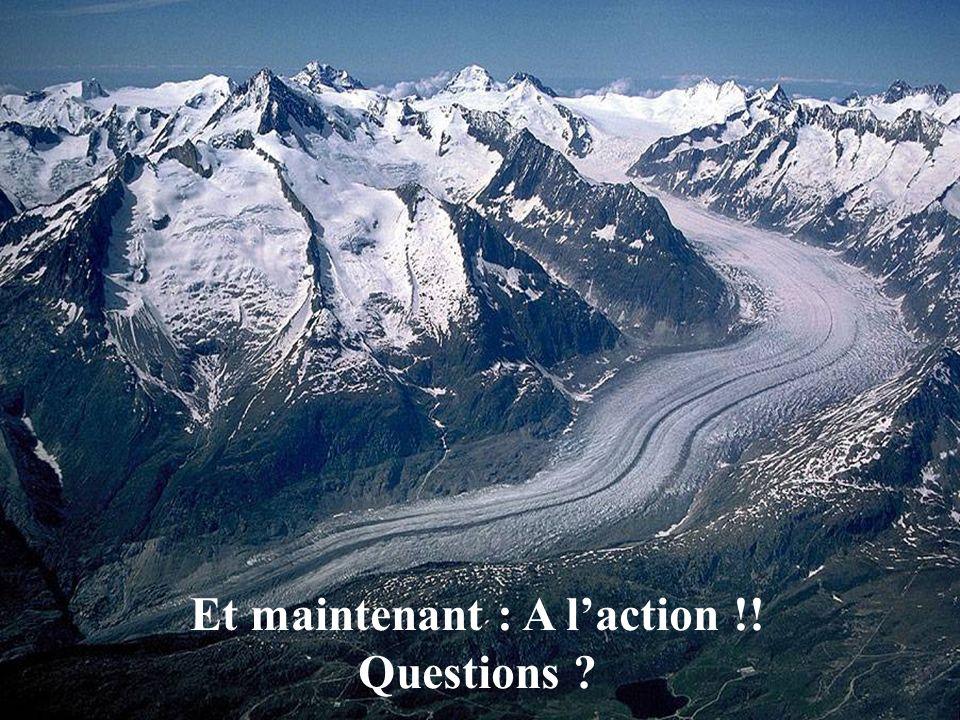 Et maintenant : A laction !! Questions ?