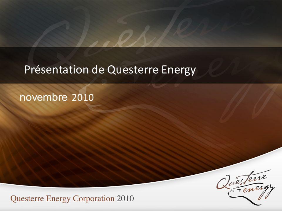 Présentation de Questerre Energy novembre 2010