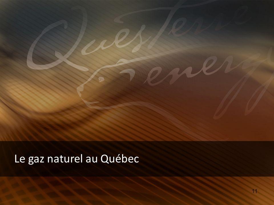 11 Le gaz naturel au Québec