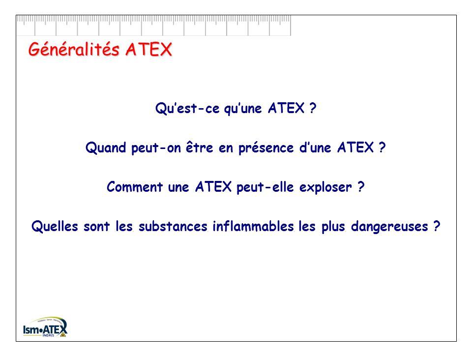 Généralités ATEX