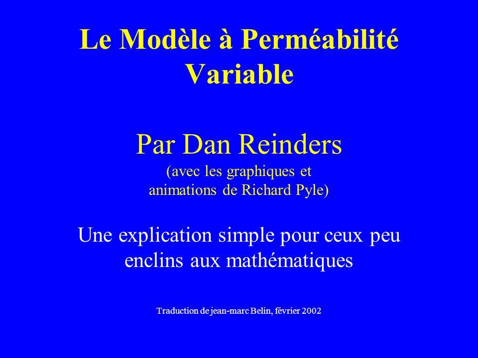 Le Modèle à Perméabilité Variable Par Dan Reinders (avec les graphiques et animations de Richard Pyle) Une explication simple pour ceux peu enclins au