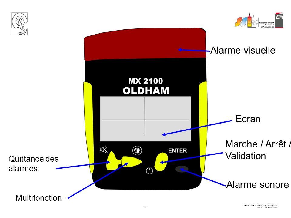 31 TH-MX2100-Pres tableau CO-TL-chb-fi-02.ppt ©ECA LT-CHB-31.05.2007 ENTER