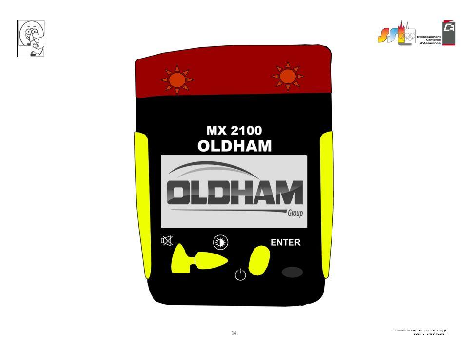 93 TH-MX2100-Pres tableau CO-TL-chb-fi-02.ppt ©ECA LT-CHB-31.05.2007 Charge rapide 00:13:02 Débrancher la charge