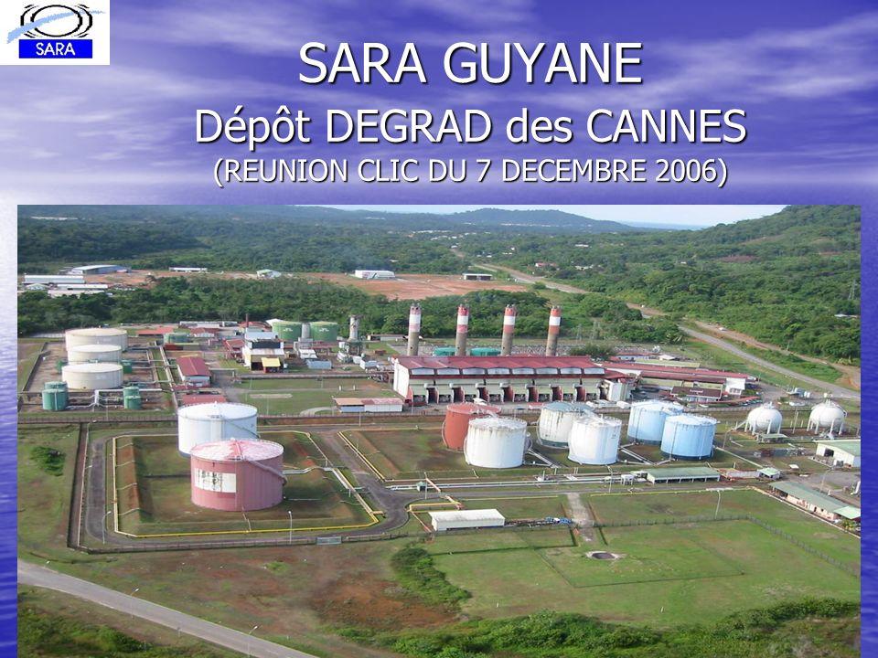 SARA GUYANE Dépôt DEGRAD des CANNES (REUNION CLIC DU 7 DECEMBRE 2006)