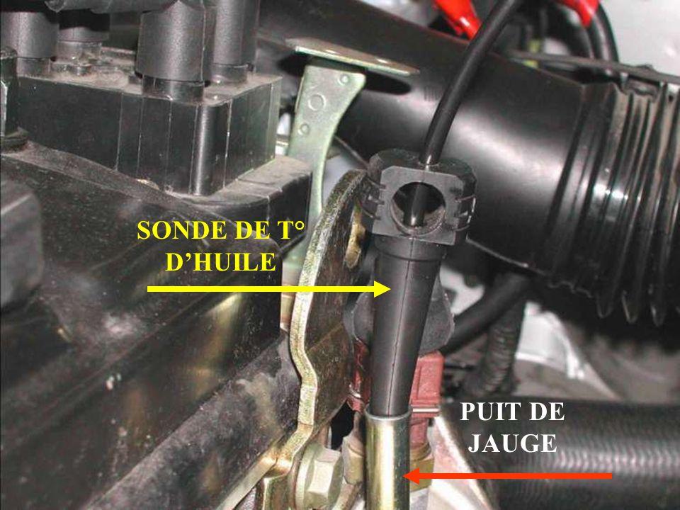 SONDE DE T° DHUILE PUIT DE JAUGE