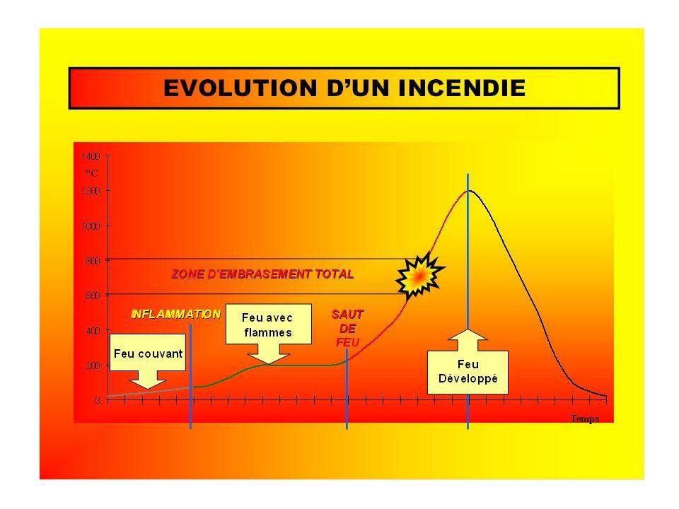 Naissance Développement Développement de lincendie Propagation
