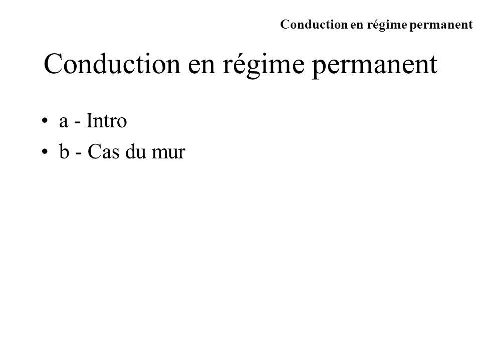 cas des solides Très grande diversité de comportements : Conducteurs Contribution électronique et du réseau k(W/mK) 209,3 389,6 74,4 20,9 11 ( m10 -8 ) 2,62 1,55 9,0 49,0 75 * 10 9 20,1 22,1 24,5 37,5 30,2 T=273K Al Cu Fe Constantan Invar loi de Wiedemann Frantz: Conduction en régime permanent