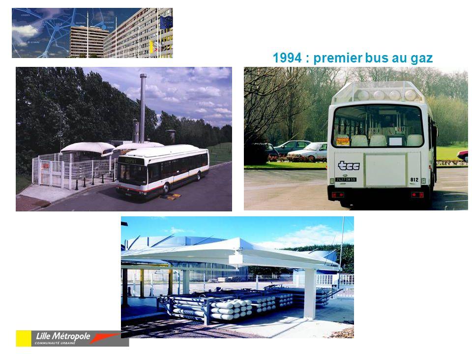 1994 : premier bus au gaz