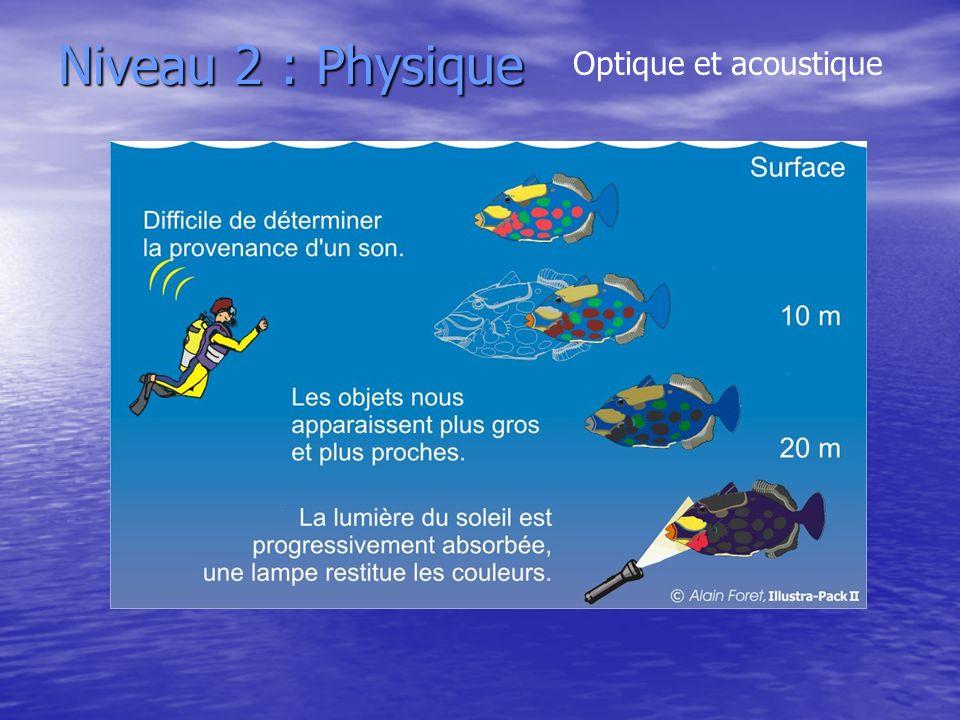 Niveau 2 : Physique Optique et acoustique