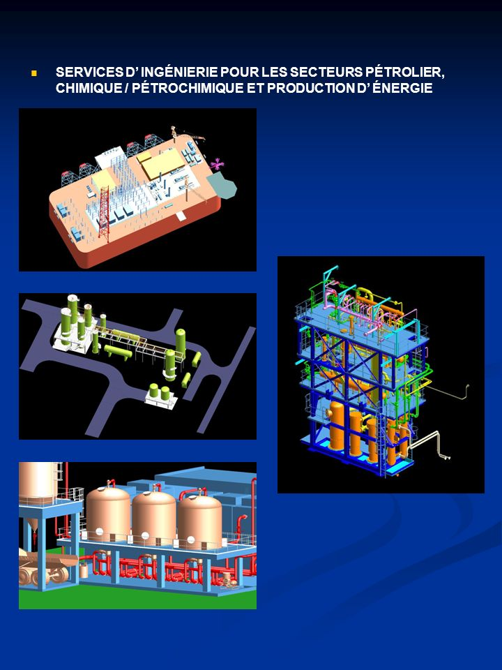 Structures en charpenterie, civiles et industrielles.