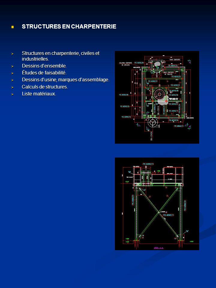 Développement de routes, réseaux anti-incendie enterrés; fondation pour pompes, réservoirs, skid et supports, ancrages pour tuyauteries, liste matériaux.