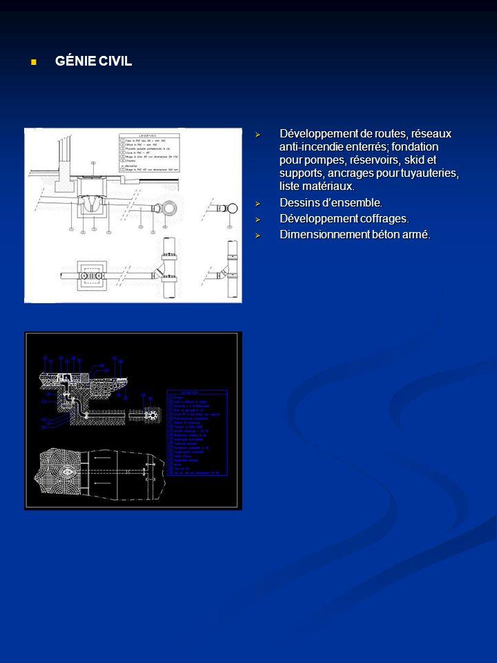 Développement Skid machine, pour turbines à gaz, turbines à vapeur et compresseurs centrifuges.