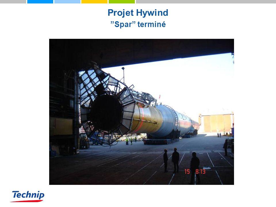 Projet Hywind Spar terminé