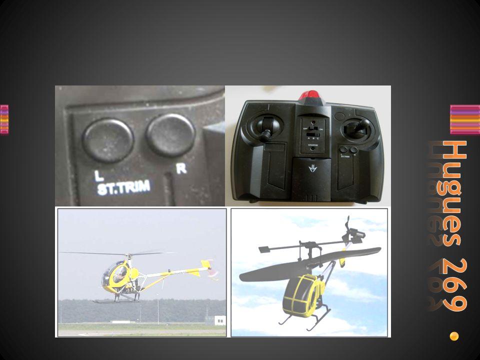 A quoi sert le Trim sur les 2 hélicoptères miniature, sur quels facteurs agit-il pour obtenir le réglage.