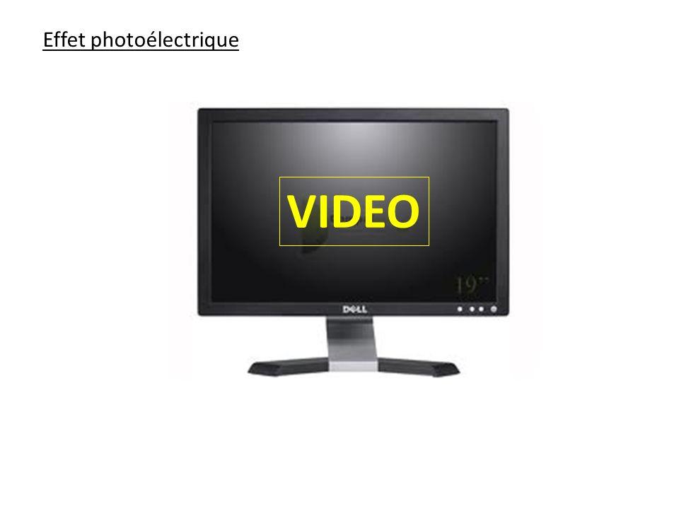 Effet photoélectrique VIDEO