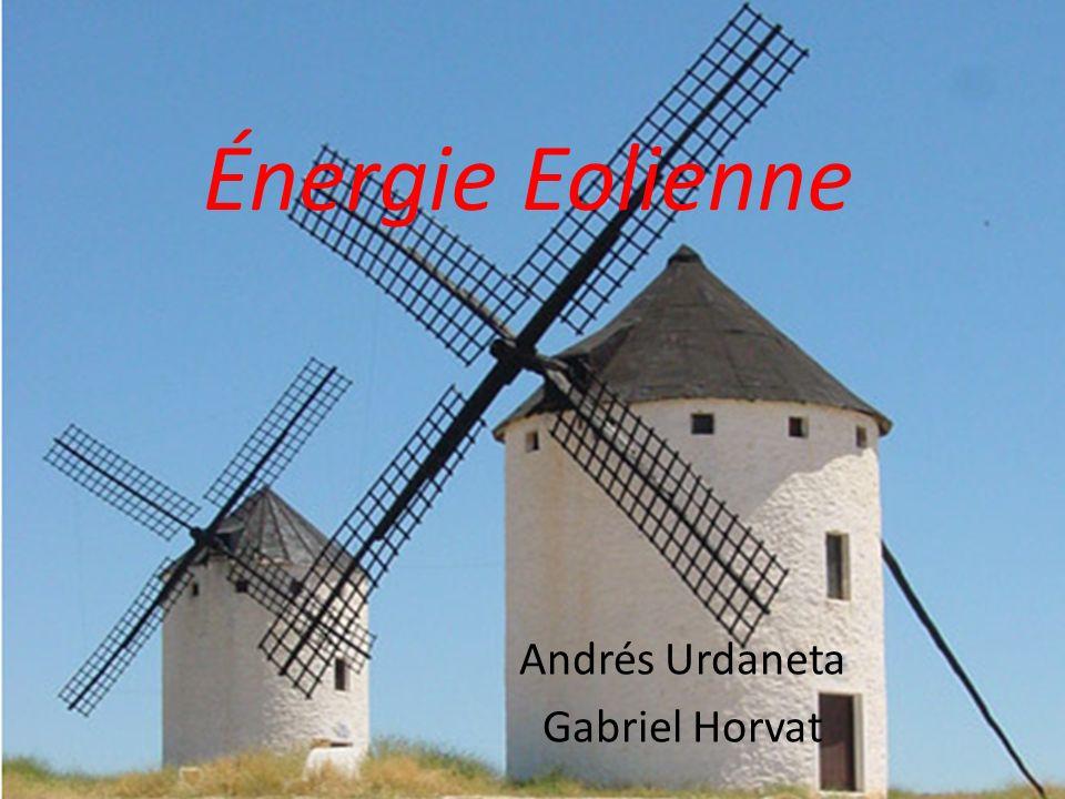 Énergie Eolienne Andrés Urdaneta Gabriel Horvat