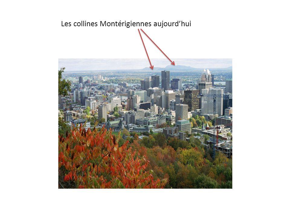 Les collines Montérigiennes aujourdhui