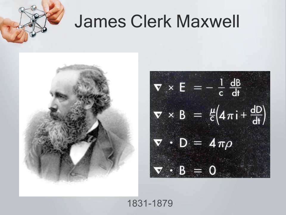 James Clerk Maxwell 1831-1879