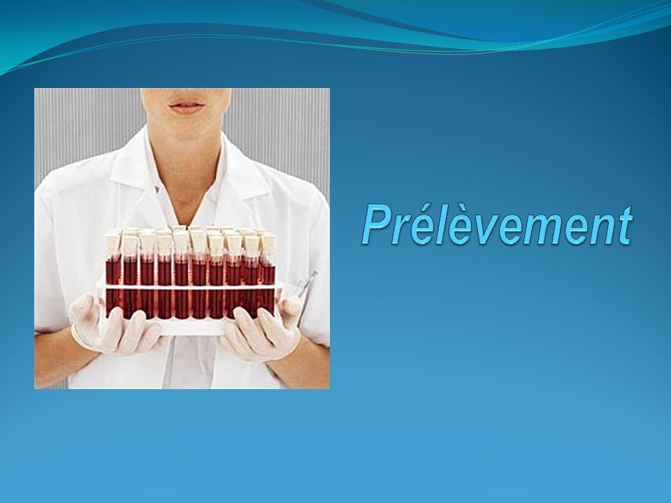 I- INTRODUCTION: Le prélèvement en médecine consiste en un acte réalisable par un infirmier, une sage-femme, un biologiste médical, un médecin ou un technicien de laboratoire.