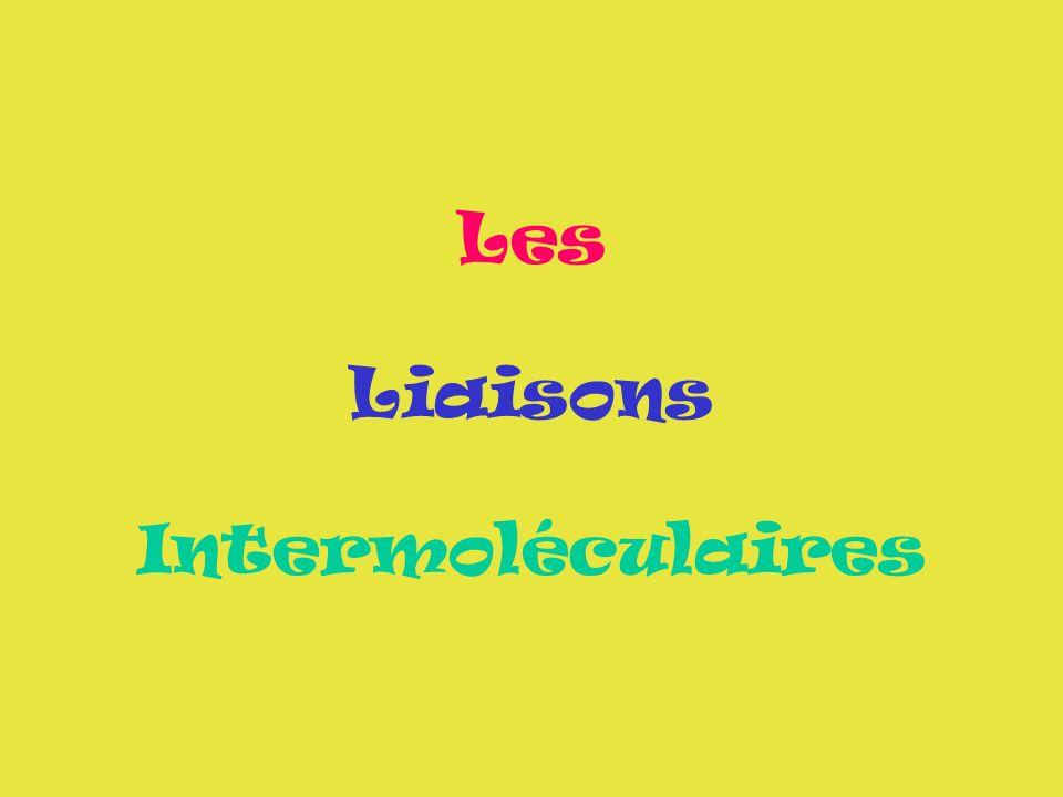 Lassemblage des molécules Si nous prenons la molécule deau qui est composée datomes dhydrogène et datomes doxygène.