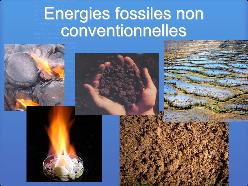 Energies fossiles non conventionnelles