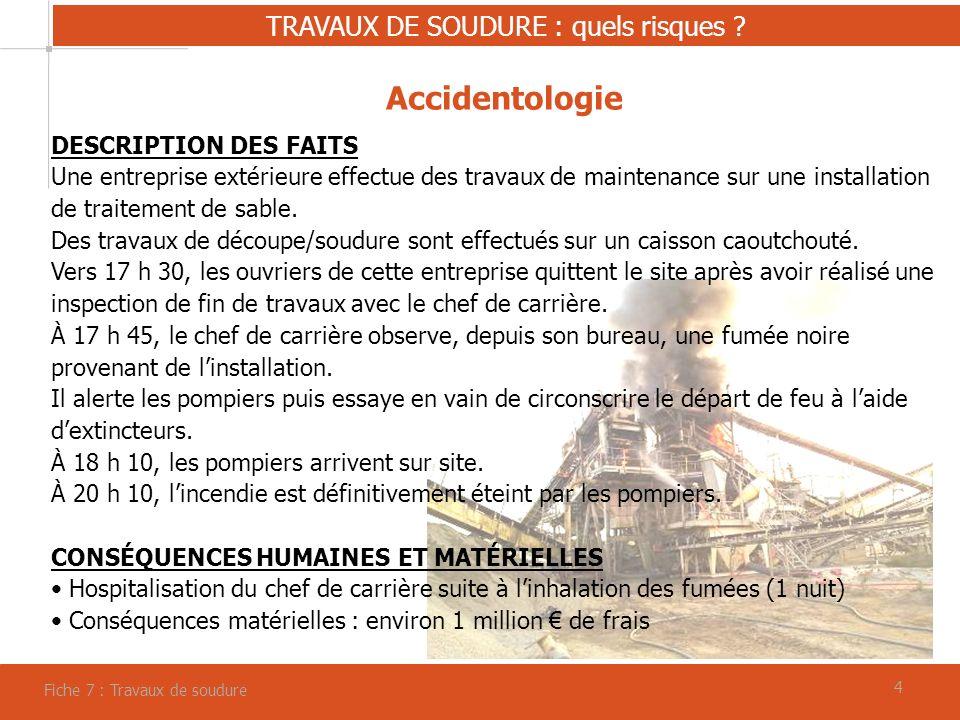 44 TRAVAUX DE SOUDURE : quels risques .
