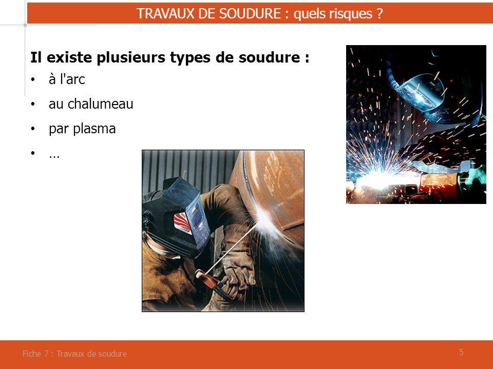 55 TRAVAUX DE SOUDURE : quels risques .