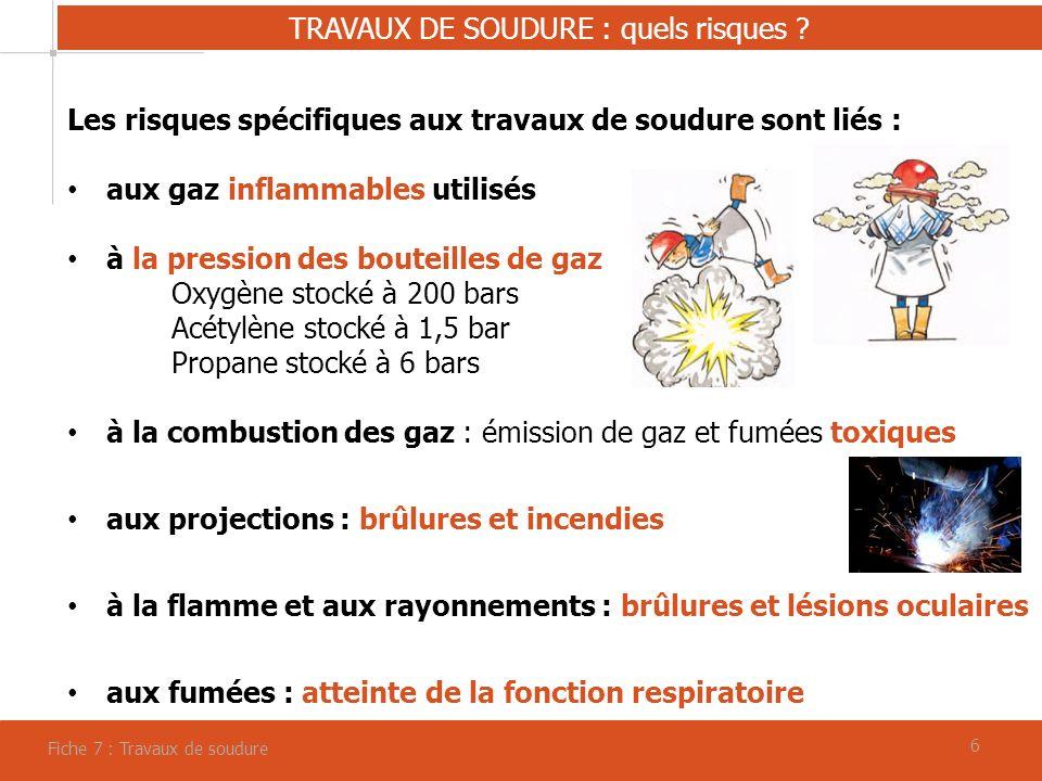 66 TRAVAUX DE SOUDURE : quels risques .