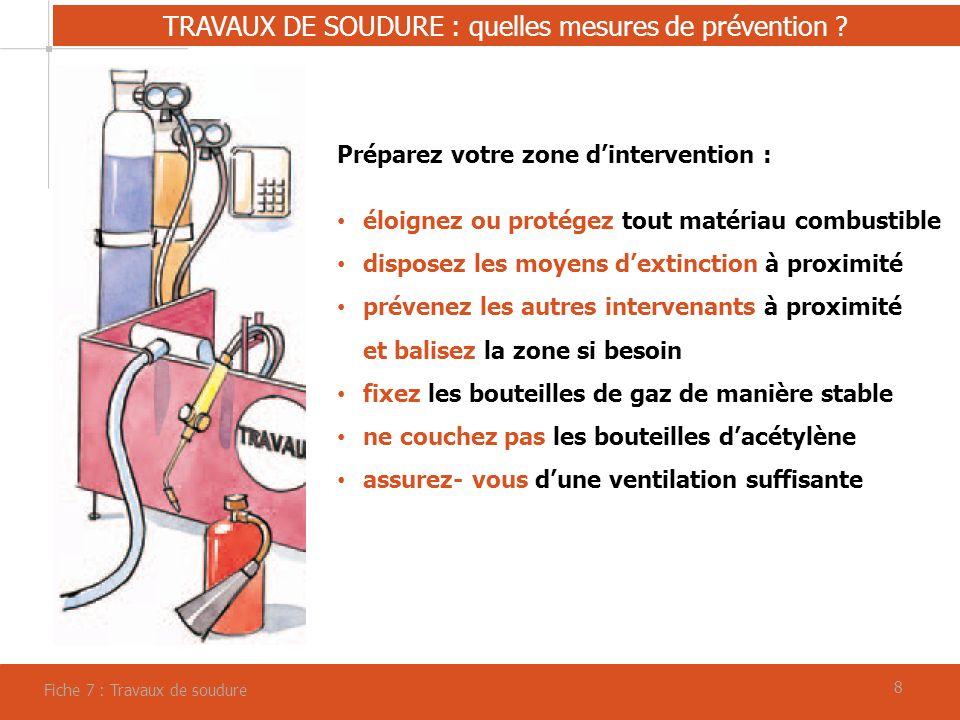 99 TRAVAUX DE SOUDURE : quelles mesures de prévention .