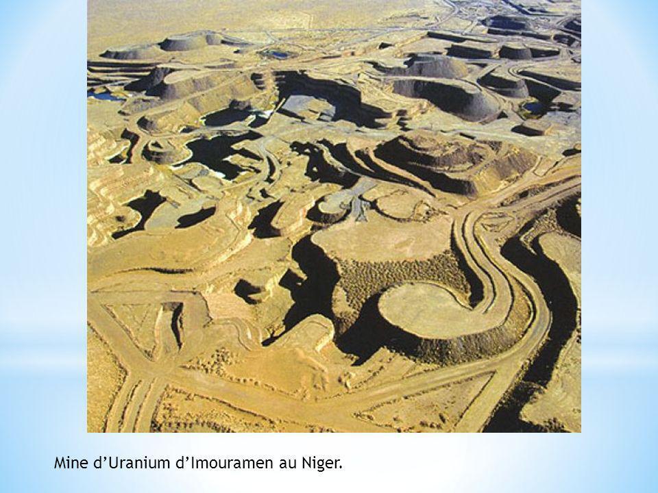Mine dUranium dImouramen au Niger.