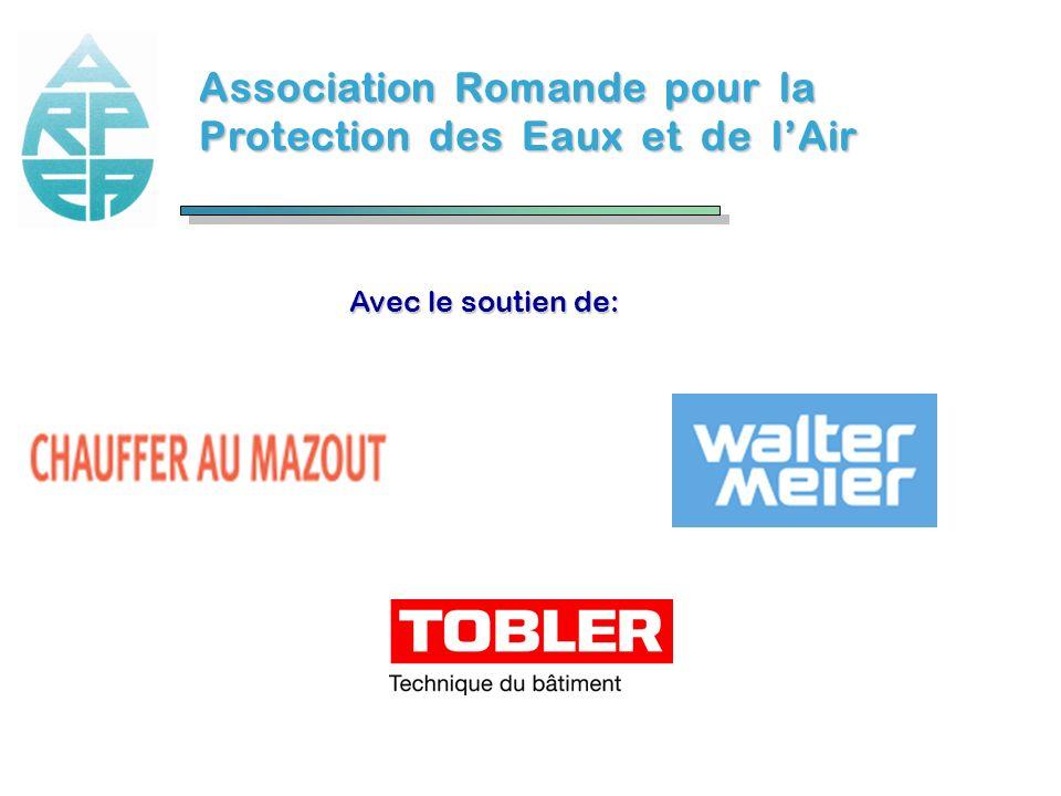 Association Romande pour la Protection des Eaux et de lAir Avec le soutien de: