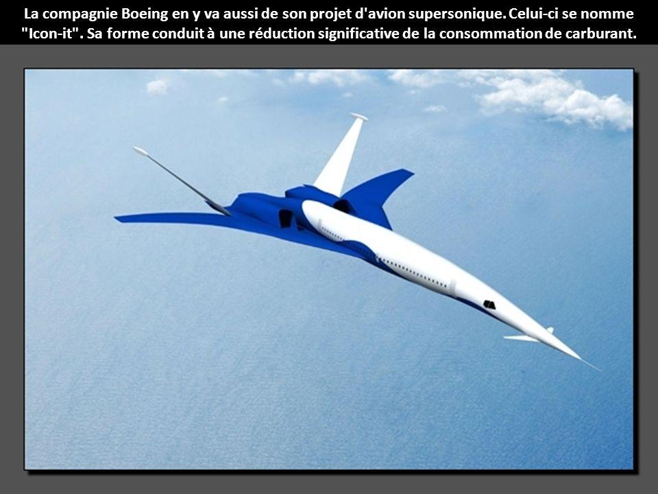 Lockheed Martin Corporation a élaboré un concept d'avion supersonique incroyable. Le but de ce projet est de construire un avion capable de voler au-d