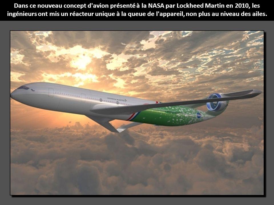 Qui sait ? Peut-être qu'en 2025, vous volerez à bord de ce concept dernière génération conçu par l'équipe d'ingénieurs de Boeing.