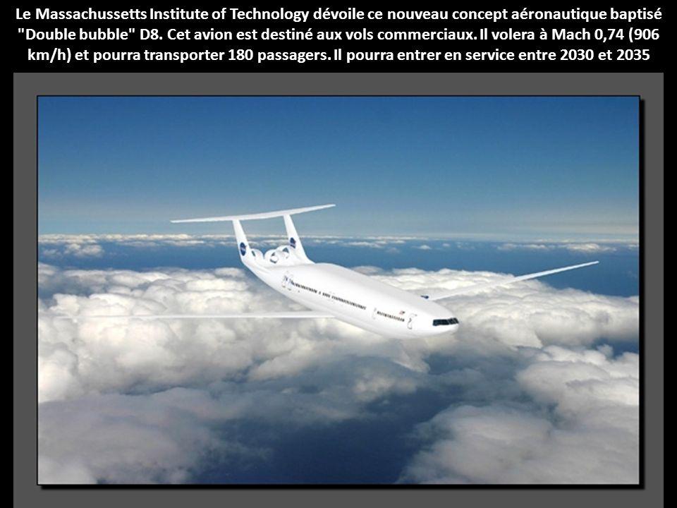 Dans ce nouveau concept d'avion présenté à la NASA par Lockheed Martin en 2010, les ingénieurs ont mis un réacteur unique à la queue de l'appareil, no