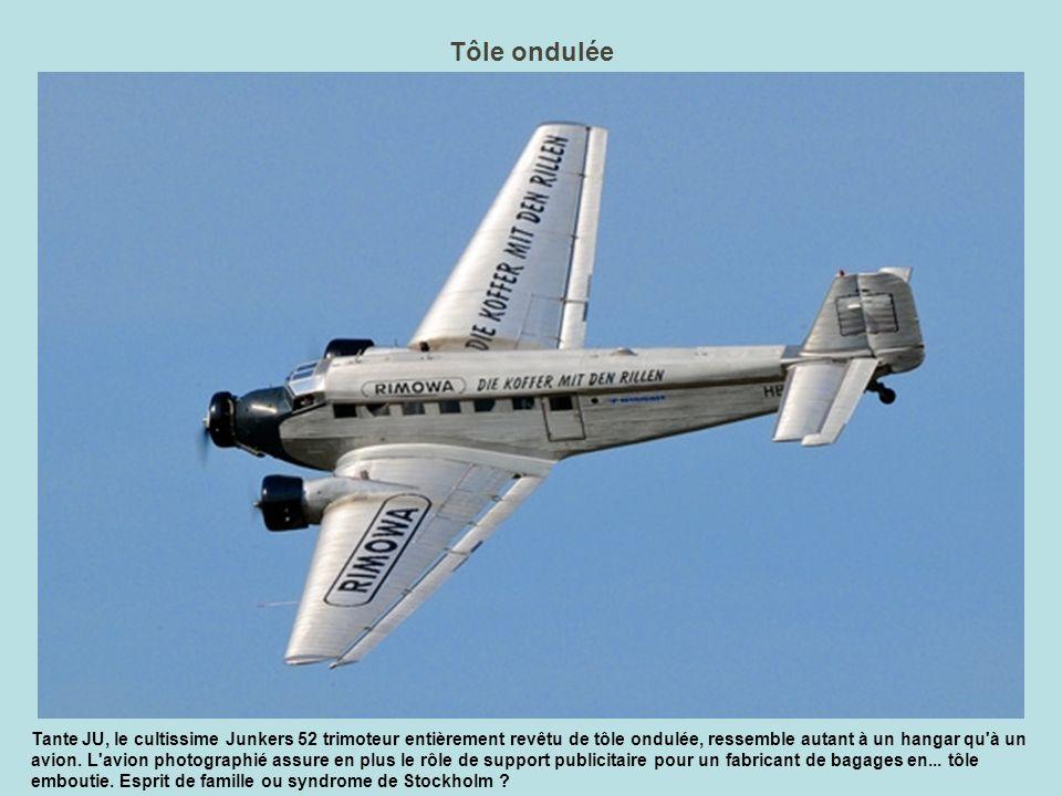 Toutes voiles dehors Une arrivée à très basse vitesse pour simuler un appontage, toutes traînées dehors (trains, crosse, volets) et le Hawkeye remet les gaz dans le grondement de ses deux turbopropulseurs de 5100 ch.