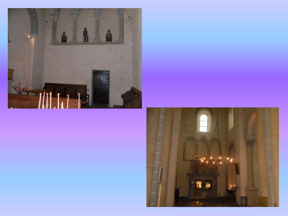 Intérieur de léglise de Saint Nectaire