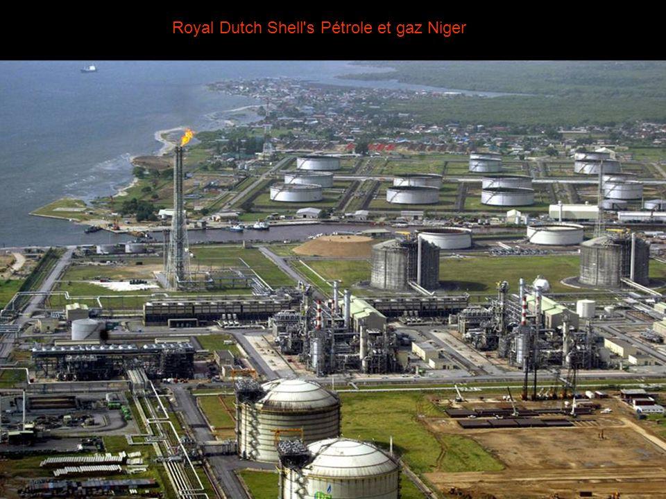 Royal Dutch Shell s Pétrole et gaz Niger