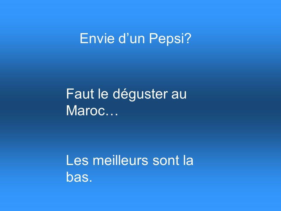 MEGALOL présente Pepsi made in Maroc …