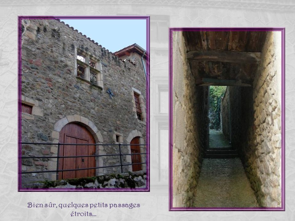 Vestiges qui conservent toute leur majesté! Dans le village on retrouve de nombreuses fenêtres à meneaux.