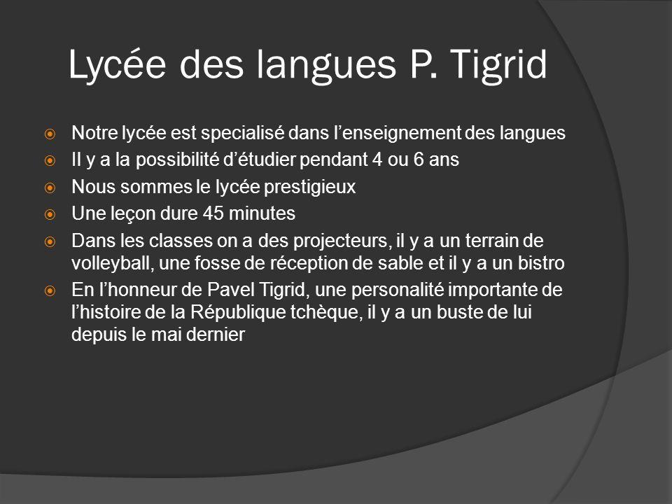 Lycée des langues P.