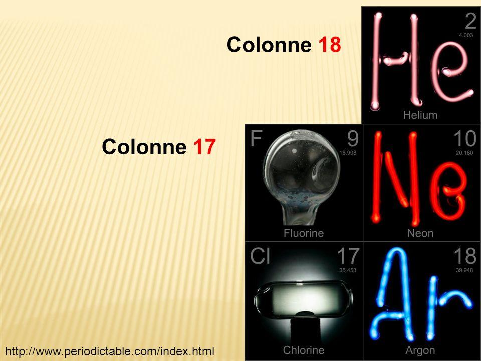 Colonne 18 Colonne 17