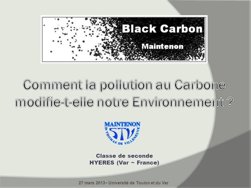 Classe de seconde HYERES (Var ~ France) 27 mars 2013~ Université de Toulon et du Var