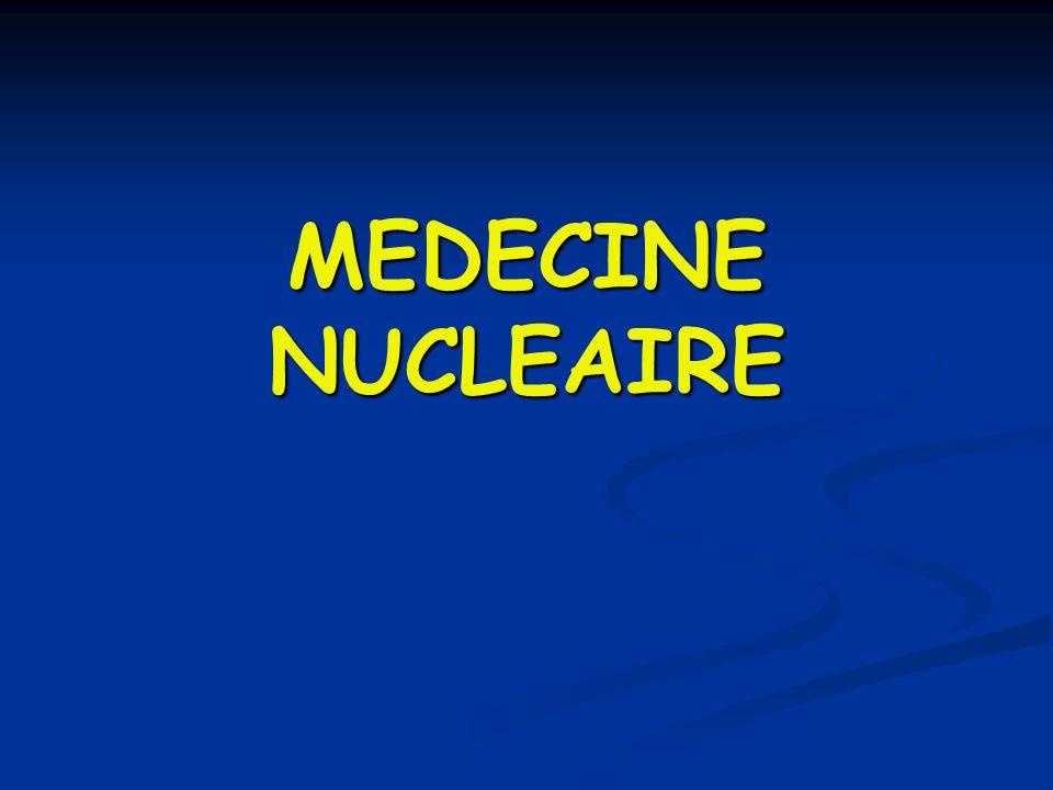 MEDECINE NUCLEAIRE