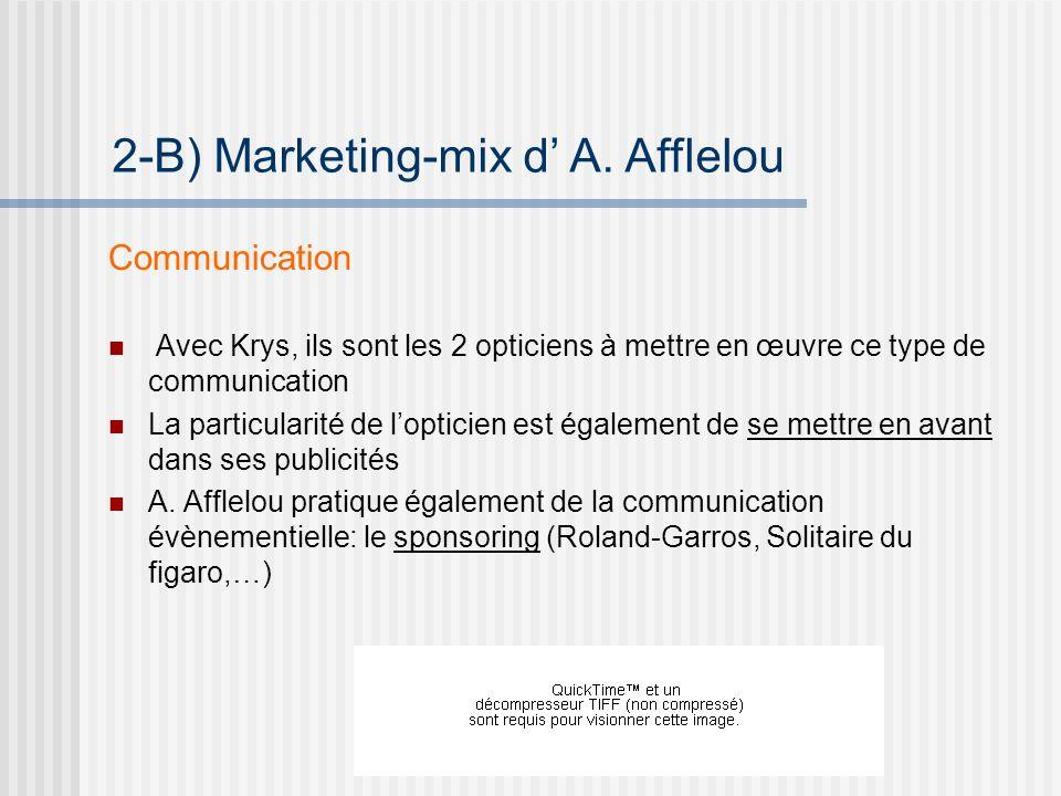 Communication Avec Krys, ils sont les 2 opticiens à mettre en œuvre ce type de communication La particularité de lopticien est également de se mettre en avant dans ses publicités A.