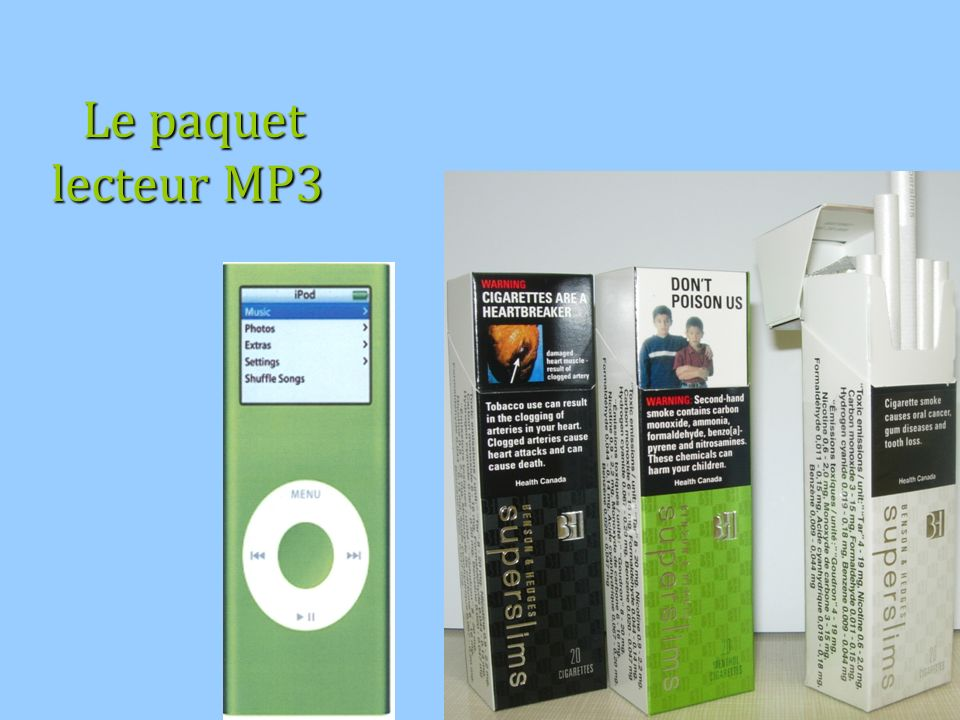 Le paquet lecteur MP3