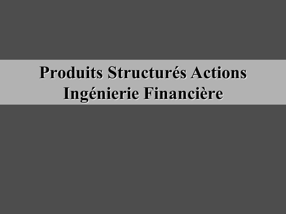 Produits Structurés Actions Ingénierie Financière