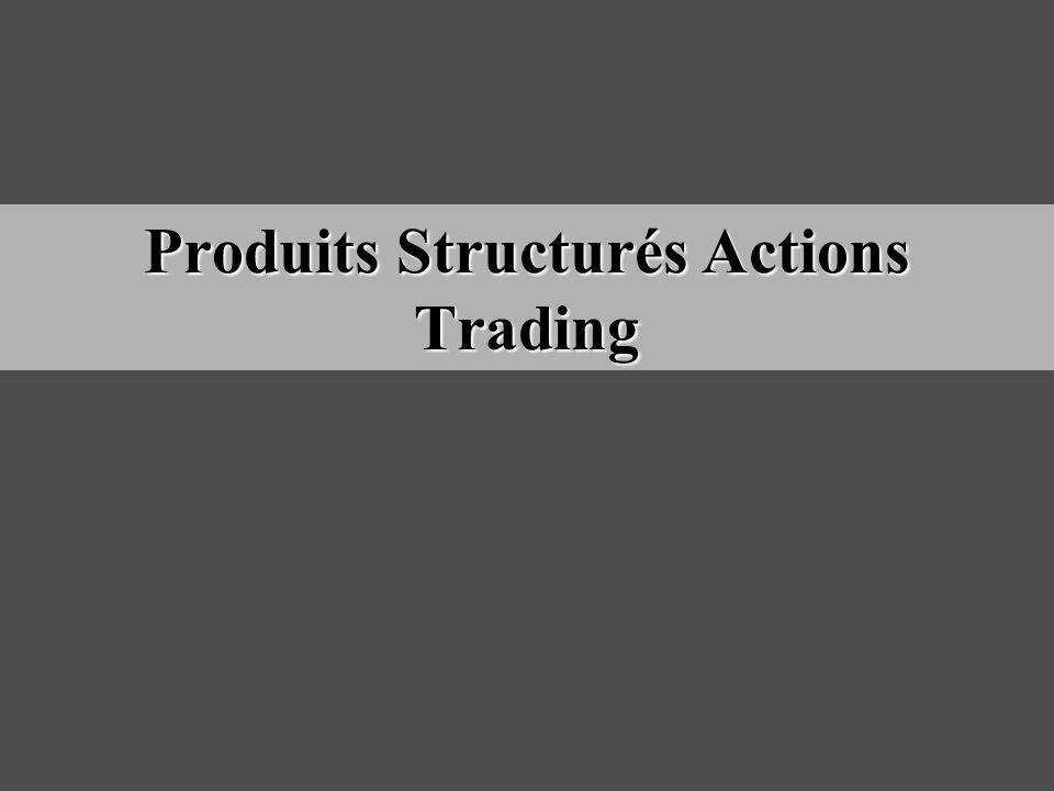 Produits Structurés Actions Trading