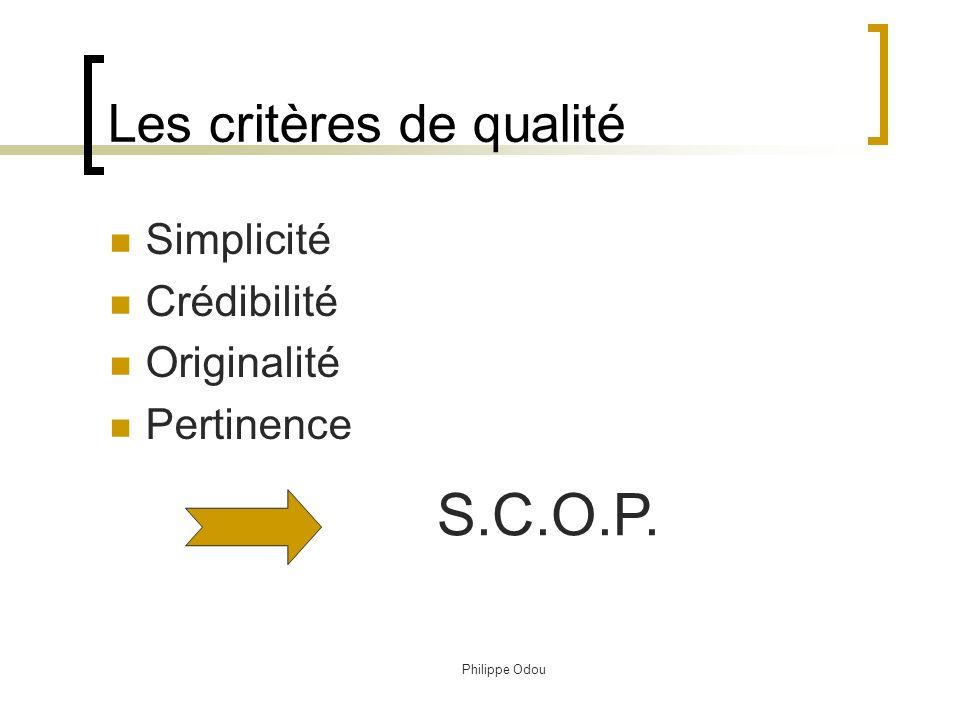 Philippe Odou Triangle dor du positionnement $ La concurrence Le consommateurLe produit